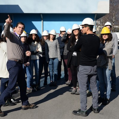 AQUAFIL HOSTED STUDENTS FOR THE GREEN WEEK