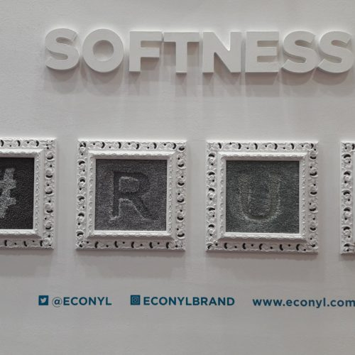 Extremely softness of  ECONYL® high end rugs.