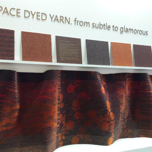 Trend by designer Sandra Lorenz, a glamorous beautiful carpet.