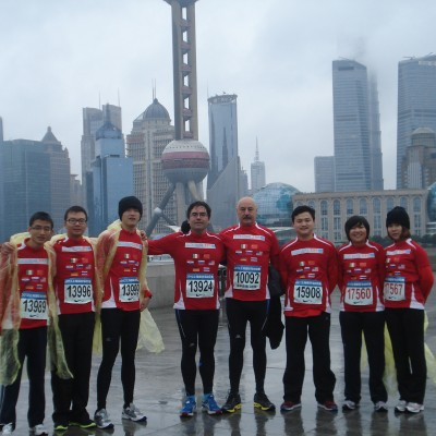 Our people among the 30.000 of Shanghai!