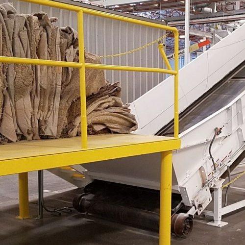 Le vecchie moquettes non sono più rifiuti, ma risorse di valore per il nostro processo ECONYL®.