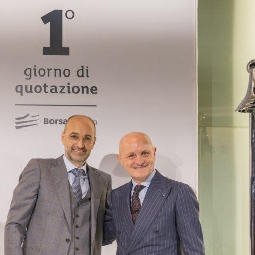 CEO Giulio Bonazzi and CFO Adriano Vivaldi.