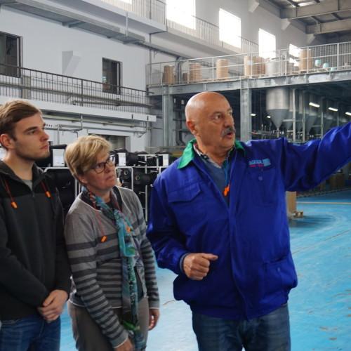 Italian students visited Aquafil Jiaxing (CHINA)