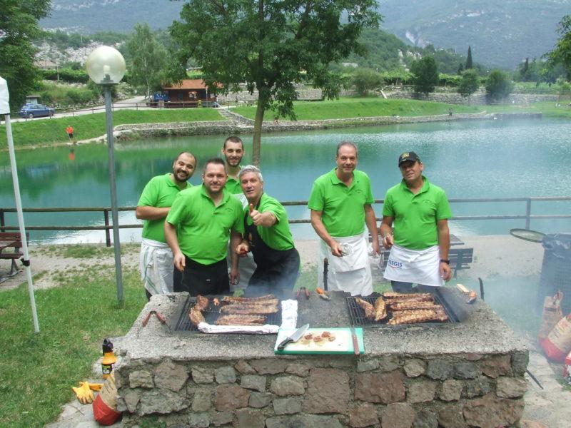 Festa estate Aquafil grigliata