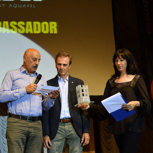 La federazione internazionale dello Sport Climbing premiata da Aquafil con il Climbing Ambassador by Dryarn®