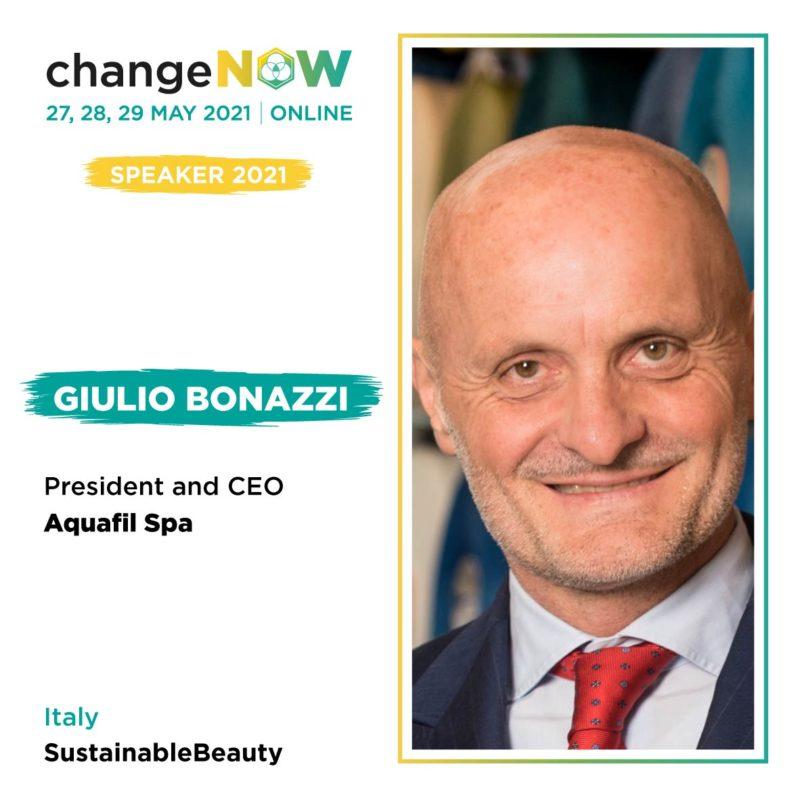 Giulio Bonazzi speaker at ChangeNOW Summit
