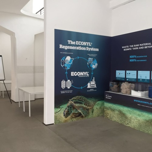 AQUAFIL WITH THE ECONYL® BRAND AT THE REGENERATION EVENT