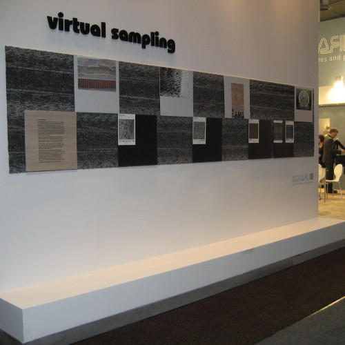VIRTUAL SAMPLING by Sandra Lorenz