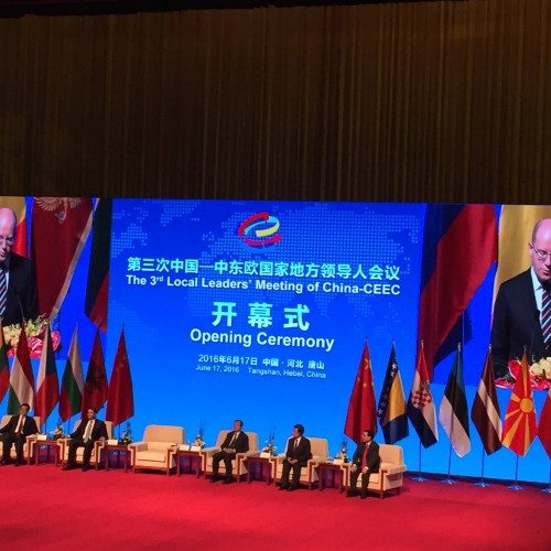 Dr Saša Muminović was a member of the official Croatian delegation on the 3rd Local Leaders Meeting of China and CEEC in Tangshan, China.