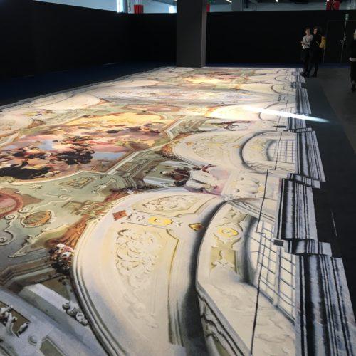 Ege printed carpet.