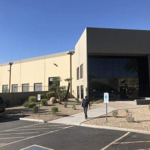 Lo stabilimento Aquafil di Phoenix Arizona.