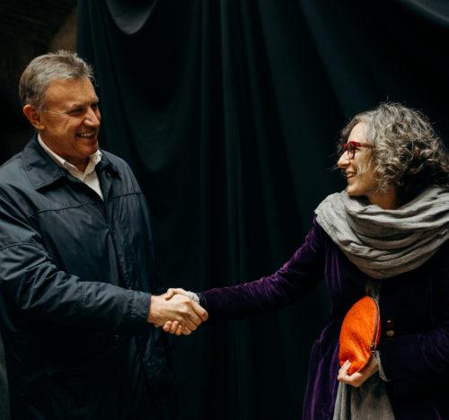 Edi Kraus in TIna Princ, foto: Urša Premik