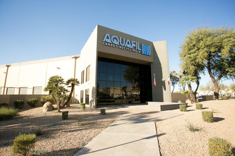 Aquafil carpet recycling