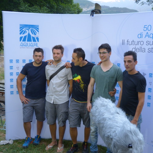 Aquafil festeggia l'estate al Lago Bagatol