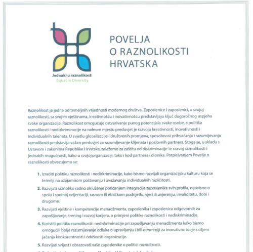 Diversity Charter Croatia.
