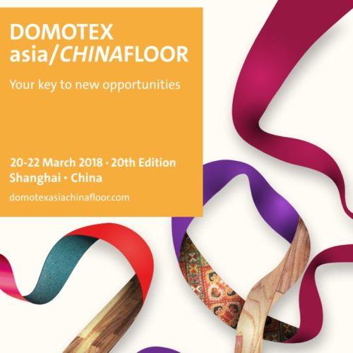 Domotex ASIA Chinafloor Exhibition March 20-22, 2018.