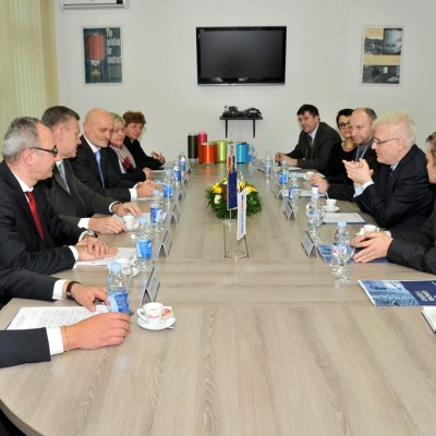The President of the Republic of Croatia Dr Ivo Josipovic visited AquafilCRO