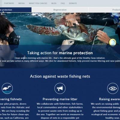 HEALTHY SEAS WEBSITE IS NOW ONLINE!