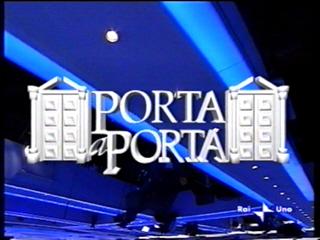 """Giulio Bonazzi a """"Porta a Porta"""""""